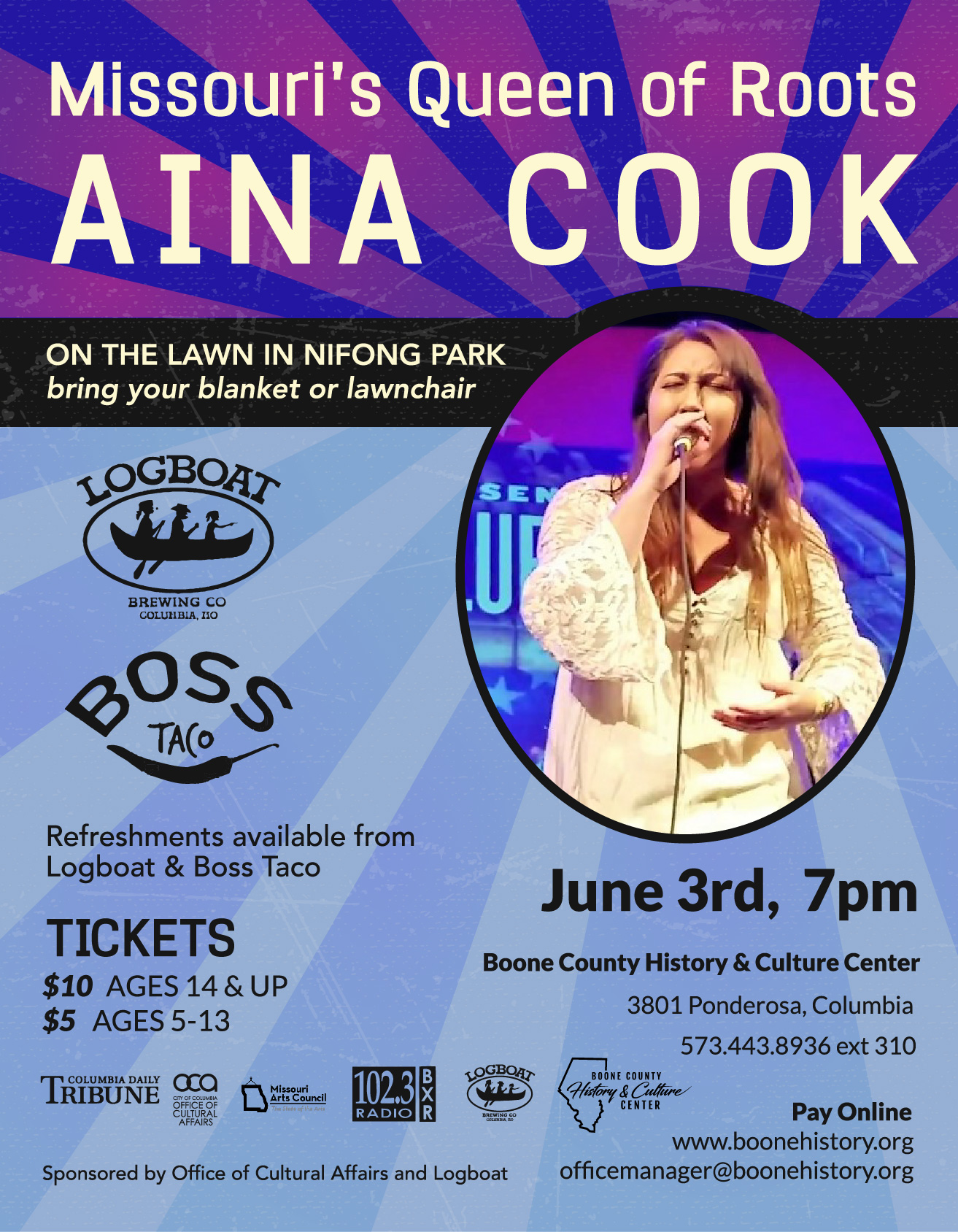 Missouri's Queen of Roots – Aina Cook