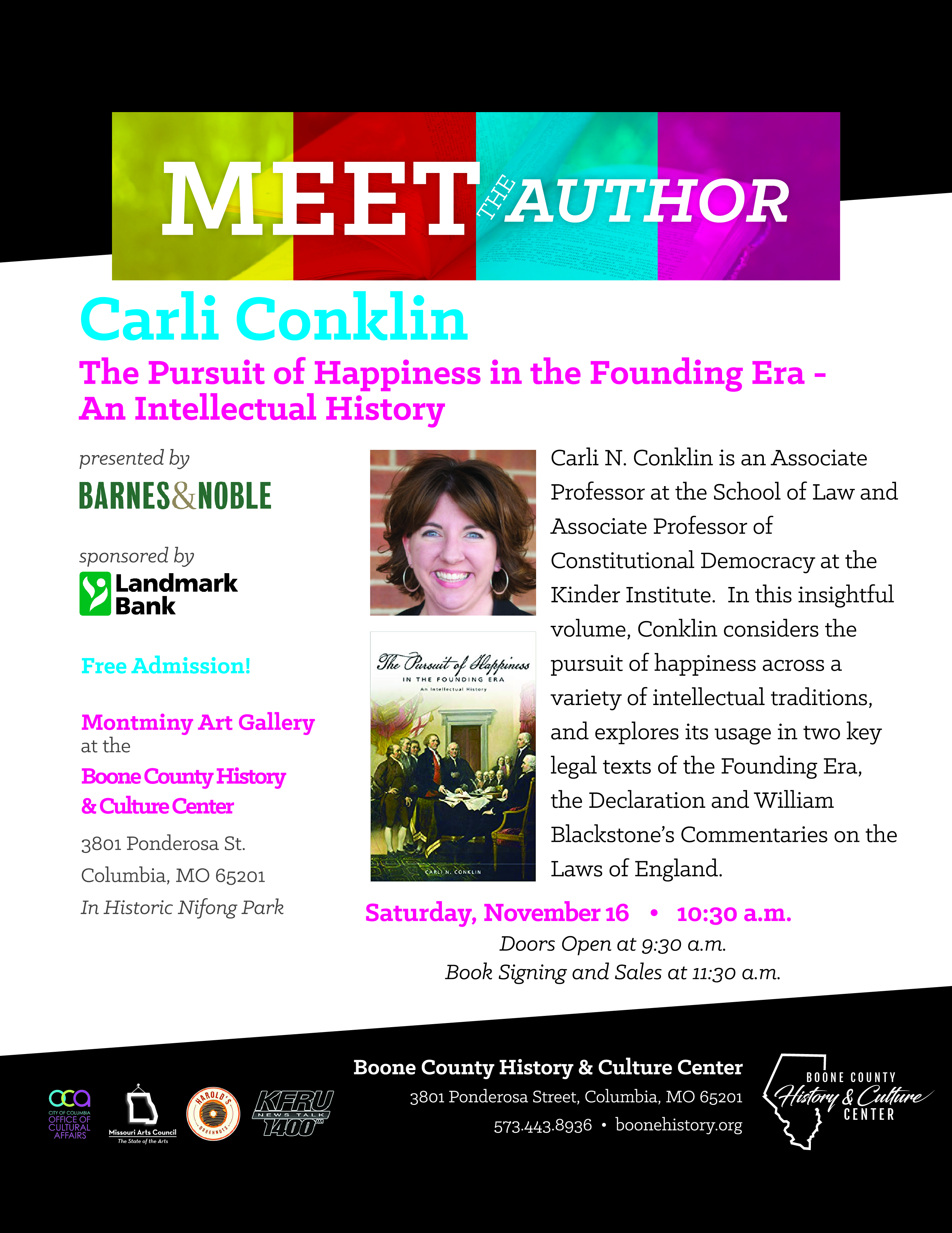 Carli Conklin – A Pursuit of Happiness in the Founding Era – An Intellectual History